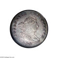 Early Dimes: , 1798/97 10C 13 Stars on Reverse MS62 PCGS....