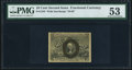 Fractional Currency:Second Issue, Fr. 1245 10¢ Second Issue PMG About Uncirculated 53.. ...