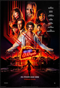 """Bad Times at the El Royale (20th Century Fox, 2018) Rolled, Very Fine+. International One Sheet (27"""" X 40"""") DS..."""
