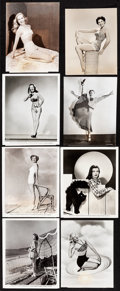 """Movie Posters:Sexploitation, Pin-Up Lot (Various, c.1940s) Overall: Fine/Very Fine. Photos (21)(7.5"""" X 9"""" - 8"""" X 10""""). Sexploitation.... (Total: 21 Items)"""