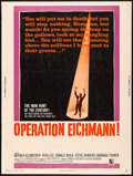 """Movie Posters:Drama, Operation Eichmann & Other Lot (Allied Artists, 1961) Rolled, Very Fine-. Posters (2) (30"""" X 40""""). Drama.... (Total: 2 Items)"""