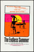 "Movie Posters:Sports, The Endless Summer (Cinema 5, 1966) Folded, Fine/Very Fine. Day-Glo Silk Screen One Sheet (27"" X 41""). John Van Hamersveld A..."