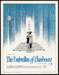 """Movie Posters:Foreign, The Umbrellas of Cherbourg (Allied Artist, 1965) Rolled, Very Fine. Vertical Half Sheet (22"""" X 28""""). Foreign...."""