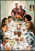 """Movie Posters:Action, Deadpool 2 (20th Century Fox, 2018) Rolled, Very Fine+. One Sheet (27"""" X 40"""") DS Style A Teaser. Steve Chorney Artwork. Acti..."""