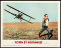 """Movie Posters:Hitchcock, North by Northwest (MGM, 1959) Fine-. Lobby Card (11"""" X 14"""").Hitchcock...."""