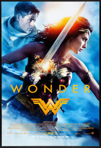 "Wonder Woman (Warner Brothers, 2017) Rolled, Very Fine/Near Mint. One Sheet (27"" X 40""). DS Advance. Action..."