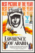 "Movie Posters:Academy Award Winners, Lawrence of Arabia (Columbia, 1962) Folded, Very Fine-. One Sheet(27"" X 41""). Academy Award Style D. Academy Award Winners...."