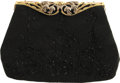 Movie/TV Memorabilia:Memorabilia, Ava Gardner Owned Walborg Beaded Evening Bag. Hand-made in France,this Walborg classic is intricately beaded with black bea...