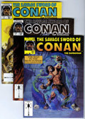 Magazines:Miscellaneous, Savage Sword of Conan Group (Marvel, 1989-92) Condition: AverageVF/NM. High-grade copies of 15 issues, including #159, 165,... (15items)