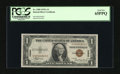 Small Size:World War II Emergency Notes, Fr. 2300 $1 1935A Hawaii Silver Certificate. PCGS Gem New 65PPQ.. This Hawaii $1 has the look of just being paid out earlier...