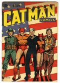 Golden Age (1938-1955):Superhero, Catman Comics #27 (Continental, 1945) Condition: VG/FN....