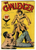 Golden Age (1938-1955):Adventure, Challenger #3 (Interfaith Committee, 1946) Condition: VG....