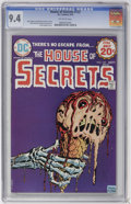 Bronze Age (1970-1979):Horror, House of Secrets #123 (DC, 1974) CGC NM 9.4 Off-white pages....