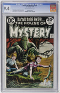 Silver Age (1956-1969):Horror, House of Mystery #219 (DC, 1973) CGC NM 9.4 Off-white to whitepages....