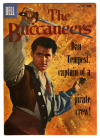 Four Color #800 The Buccaneers File Copy (Dell, 1957) Condition: VF-