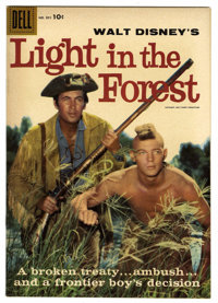 Four Color #891 Light in the Forest File Copy (Dell, 1958) Condition: VF+