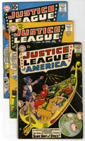 Silver Age (1956-1969):Superhero, Justice League of America Group (DC, 1961-62).... (Total: 4)