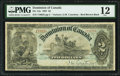 Canadian Currency, DC-14a $2 1897 PMG Fine 12.. ...
