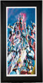 Alex Ross Superboy and the Legion of Super-Heroes Oversized Signed Limited Edition Print #237/500 (DC, 1999)