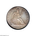 Proof Seated Half Dollars: , 1853 50C Arrows and Rays PR65 NGC....