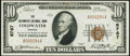 National Bank Notes:Kansas, Coldwater, KS - $10 1929 Ty. 1 The Coldwater NB Ch. # 6767 Extremely Fine.. ...