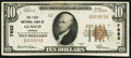 National Bank Notes:Kansas, Glasco, KS - $10 1929 Ty. 1 The First NB Ch. # 7683 Very Fine.. ...