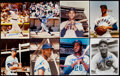 Autographs:Photos, Chicago Cubs Signed Photograph Lot of 35 with 8 Hall of Famers.... (Total: 35 items)