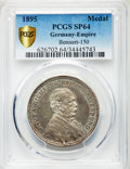 "Germany, Germany: Otto von Bismarck silver Specimen ""80th Birthday"" Medal1895 SP64 PCGS,..."