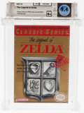 Video Games:Nintendo, The Legend of Zelda (NES, Nintendo, 1987) Wata 9.4 B+ (SealRating)....