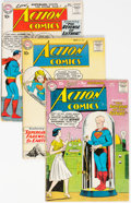 Silver Age (1956-1969):Superhero, Action Comics Group of 17 (DC, 1959-61) Condition: Average...