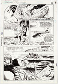 Original Comic Art:Panel Pages, Judith Hunt, Sam Glanzman, and Mike Esposito The LosersSpecial #1 Story Page 19 Original Art (DC, 1985)....