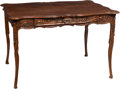 Furniture , A French Provincial Carved Walnut Desk, 19th century. 29-1/4 x 44-3/4 x 33 inches (74.3 x 113.7 x 83.8 cm). ...