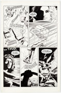Original Comic Art:Panel Pages, Paul Gulacy and Willie Blyberg Valkyrie #1 Story Page 21Original Art (Eclipse, 1987)....