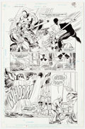 Original Comic Art:Panel Pages, Tom Grindberg and Al Vey Checkmate! #27 Story Page 21Original Art (DC, 1990)....