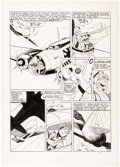 Original Comic Art:Panel Pages, Art Gates Speed Comics #20 Story Page 2 Original Art (Harvey Comics, 1942)....