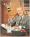 Animation Art:Limited Edition Cel, Meet My Boss, Walter Lantz Signed Limited Edition Hand-Painted Cel #104/200 (Walter Lantz Productions, 1991)....
