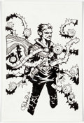 Original Comic Art:Illustrations, Chris Bachalo - Dr. Strange Commission Illustration Original Art(2016)....