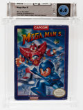 Video Games:Nintendo, Mega Man 5 (NES, Capcom, 1992) Wata 6.0 CIB (Complete in Box)....
