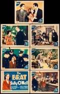 "Movie Posters:Comedy, The Brat (Fox, 1931). Fine+. Title Lobby Card & Lobby Cards (6)(11"" X 14""). Comedy.. ... (Total: 7 Items)"