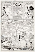 Original Comic Art:Panel Pages, Curt Swan and Vince Colletta Action Comics #547 Story Page 7Original Art (DC, 1983)....