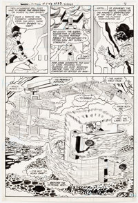 Curt Swan and Vince Colletta Action Comics #547 Story Page 7 Original Art (DC, 1983)
