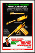 """Movie Posters:James Bond, The Man with the Golden Gun (United Artists, 1974) Folded, Fine/Very Fine. One Sheet (27"""" X 41"""") Advance. Robert McGinnis Ar..."""