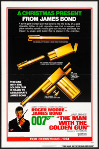 """The Man with the Golden Gun (United Artists, 1974) Folded, Fine/Very Fine. One Sheet (27"""" X 41"""") Advance. Robe..."""