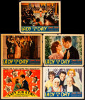 """Movie Posters:Comedy, Lady for a Day (Columbia, 1933) Overall: Fine+. Title Lobby Card& Lobby Cards (4) (11"""" X 14""""). Comedy. From the Collectio...(Total: 5 Items)"""