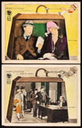 """Movie Posters:Comedy, The Strong Man (First National, 1926) Fine-. Lobby Cards (2) (11"""" X14""""). Comedy. From the Collection of Frank Buxton, of ...(Total: 2 Items)"""