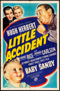 """Movie Posters:Comedy, Little Accident (Universal, 1939) Folded, Fine/Very Fine. One Sheet (27"""" X 41""""). Comedy. From the Collection of Frank Buxt..."""
