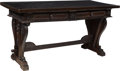Furniture : Continental, A Spanish Renaissance-Style Trestle Table, 18th century. 32-1/2 x 63-3/4 x 28 inches (82.6 x 161.9 x 71.1 cm). ...