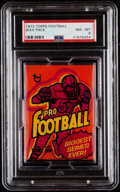 Football Cards:Unopened Packs/Display Boxes, 1973 Topps Football Wax Pack PSA NM-MT 8 - Harris & Stabler Rookie Year!...