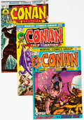 Bronze Age (1970-1979):Adventure, Conan the Barbarian Group of 78 (Marvel, 1972-79) Condition: Average VF/NM.... (Total: 78 )