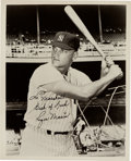 Baseball Collectibles:Photos, 1960's Roger Maris Signed Photograph from The Domenic GentileCollection, PSA Gem Mint 10. ...
